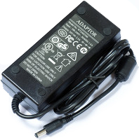 Included parts 24V 2.5A power adapter